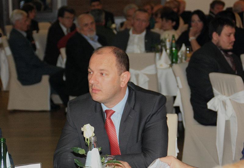 Морамо упослити и снаге у дијаспори; Лука Петровић је недавно био и на сијелу Требињаца у Београду (Фото: Слободна Херцеговина)